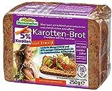 Pan proteico Keto Low Carb ketogénico Proteic Bread Solo 7,5 g de Carbohidratos para 100 g de pan (pan proteico con zanahoria)