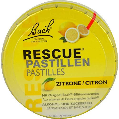 Bach RESCUE Pastillen Zitrone, 50 g Pastillen