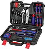 WORKPRO 160-Piece Home Repair <span class='highlight'>Tool</span> Kit <span class='highlight'>Set</span> with Durable Storage Case, Household DIY <span class='highlight'>Tool</span> <span class='highlight'>Set</span> - Including Pliers, Sockets, Screwdrivers, Hex Key, Wrench - Ideal for DIY, Workshop & Garage