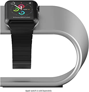 Nomad Stand for Apple Watch Silver