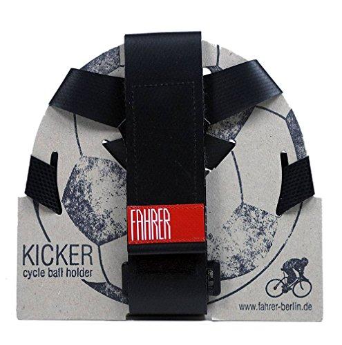 FAHRER Berlin Unisex Jugend Kicker Ballhalter, Schwarz, One Size