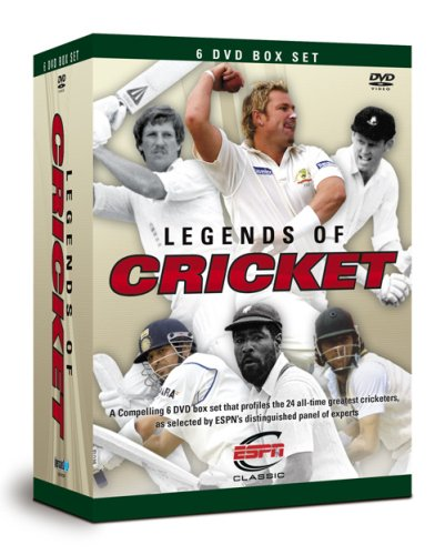 Legends of Cricket [Box Set] [DVD] [UK Import]