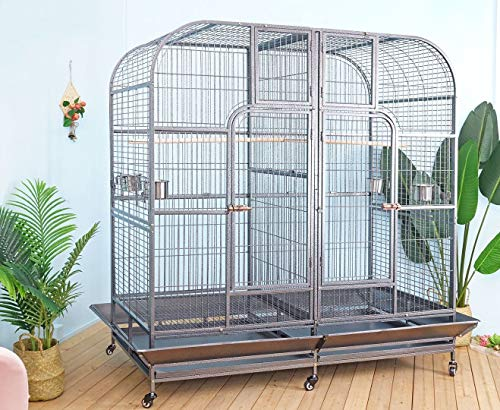 Flyline Double Cage with Center Divider for...