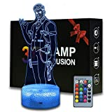 3D Illusion Battle Royale Midas Night Light, Game Theme Table Lamp with Remote Control Bedroom Decoration, Creative Desk Lamp for Birthday (My-Midas)