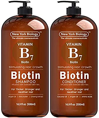 Biotin Shampoo and Conditioner