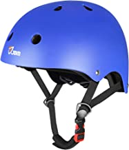 JBM Skateboard Helmet CPSC ASTM Certified Impact Resistance Ventilation for Multi-Sports Cycling Skateboarding Scooter Rol...