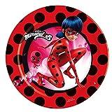 8 Platos 18 cm Ladybug