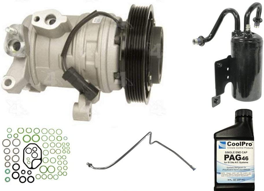 Fits 2008 Los Angeles Mall Dodge Ram 1500 3.7L 4.7L New only A Compresso AC Max 58% OFF C