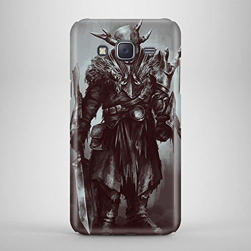 Warior Roman Alien Futuristic 3D Shockproof Ultra Thin LightWeight - Carcasa para Samsung J5 Galaxy Duos
