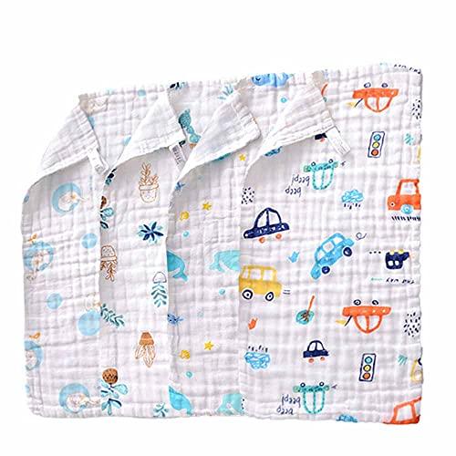 Manoplas de muselina Select Zone para bebé, 10 unidades, toallas de mano de algodón natural, suave para recién nacidos y para pieles sensibles