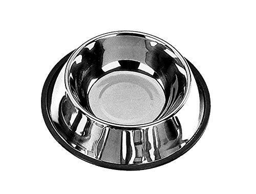 Nobby Mangeoire Antidérapante en Acier Inoxydable pour Chien 24-30 cm/1,6 L