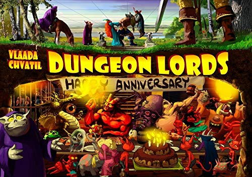 Czech Games Edition CGE00029 Dungeon Lords: Happy Anniversary, Spiel