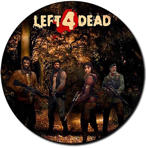 Left 4 Dead 2 Alfombrilla Redonda Round Mousepad PC