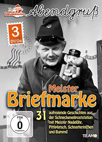 Unser Sandmännchen - Abendgruß: Meister Briefmarke (3 DVDs)
