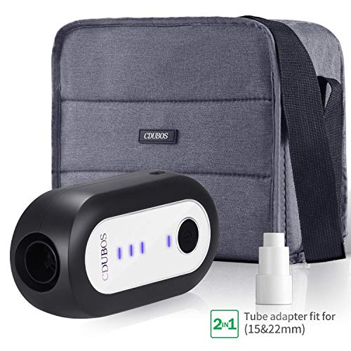 CDUBOS CPAP Cleaner and Sanitizer, Professional CPAP Sanitizer Ozone System with Sanitizing Bag for CPAP, Mask and Hose