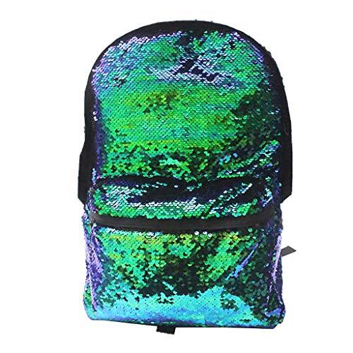 buenos comparativa URIBAKY bolso moda viaje ocio colorido lentejuelas mochila, escuela para hombres y mujeres y… y opiniones de 2021
