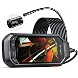 Dual Lens Video Endoscope Camera with Lights, DEPSTECH 2.0MP HD Inspection Camera with 4.5