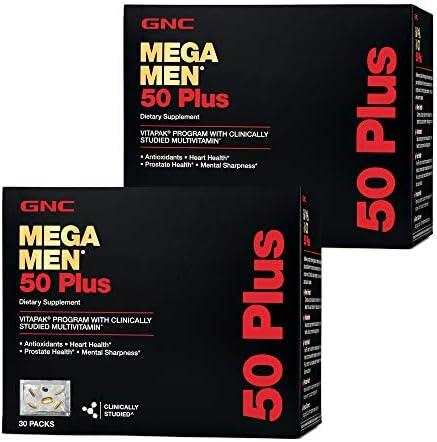 GNC GNC Mega Men 50 Plus Vitapak Program Twin Pack product image