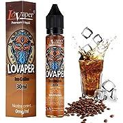 30ml LoVaper Vape Liquid, Ice Coffee E Liquid 70VG/30PG Cloud Chaser Vape Juice No Nicotine E CIG Liquid