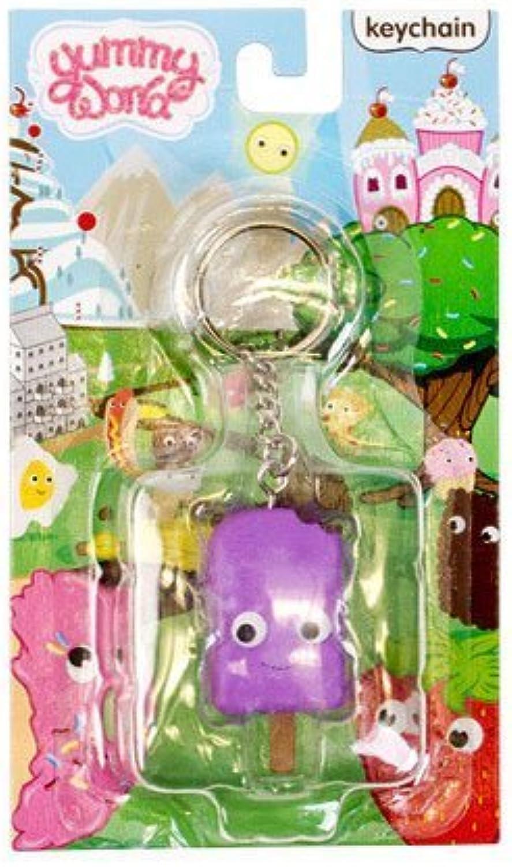 Yummy World Pudding Pop Keychain [Purple] by Kidrobot