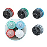 Inovey Water Filter Nozzle Attachment Accessories Offer Water Saving Faucet Aerator 4L to 8L Spout Bubbler...