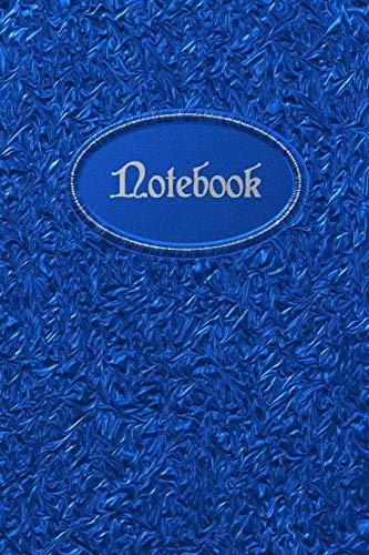 Notebook: Blaues Edles Notizbuch - Für meine Gedanken: Das besondere Einschreibbuch (Einschreibbücher) Tagebuch - Notizen