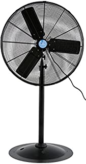 Iliving ILG8P30-72 Commercial Pedestal Floor Fan, 30