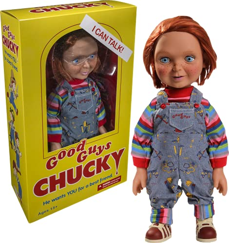 Chucky Peluche, Multicolor, 38 cm (Mezco...