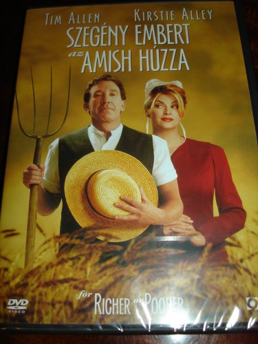 For Richer or Poorer (1997) / Region 2 PAL European DVD / Has English 2.0 and Hungarian 2.0 sound with Hungarian subtitles / Starring: Tim Allen, Kirstie Alley / Director: Bryan Spicer