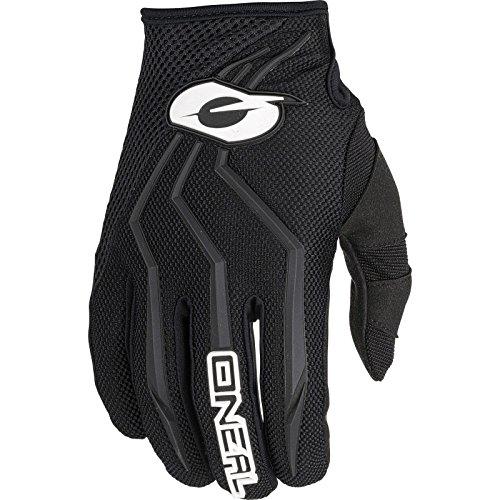 O'NEAL | Fahrrad- & Motocross-Handschuhe | Kinder | MX MTB Mountainbike Enduro Motorrad | Sichere Passform, Ergonomische Polsterung, TPR-Streifen | Element Youth Glove | Schwarz | Größe XL