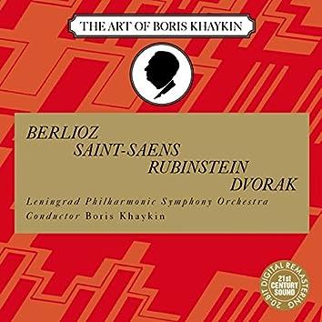 Belioz, Saint-Saens, Rubinstein, Dvorak: Symphonic Works