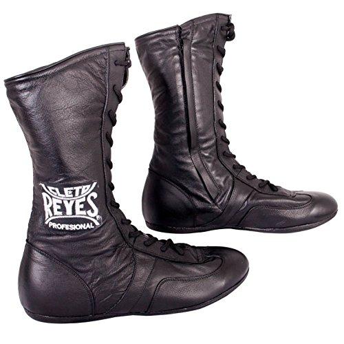 Cleto Reyes CZ428, Zapatillas de Boxeo Unisex Adulto, Negro (Black), 43/44 EU