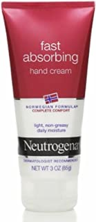 Neutrogena Norwegian Formula Fast Absorbing Hand Cream, 3 Ounce