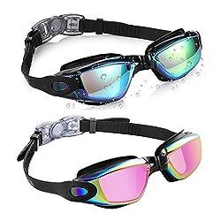 Image of Aegend Swim Goggles, Pack...: Bestviewsreviews