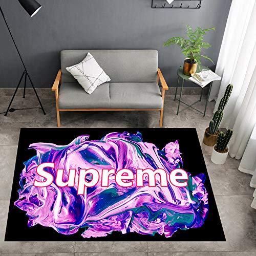 Yugy Teppich Kinder rechteckigen Kindergarten Teppich Home Decoration Wohnzimmer Sofa Mat Nordic Creative Print Supreme Teppich