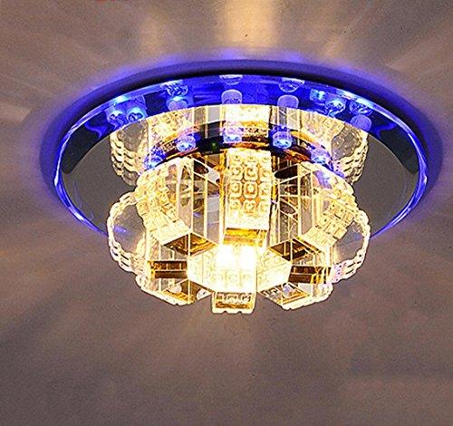 Led Crystal plafondlamp armaturen woonkamer trap Aisle Lamp 9W