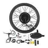 Kit de conversión para bicicleta eléctrica, 48V 1000W, conversión para rueda delantera 26 pulgadas