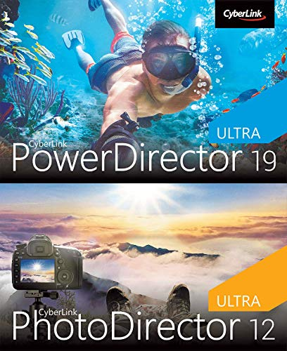 CyberLink PowerDirector 19 | Ultra & PhotoDirector 12 Ultra Duo | PC | PC...