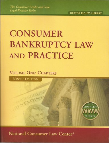 Consumer Bankruptcy Law and Practice ((2 volumes with companion website))