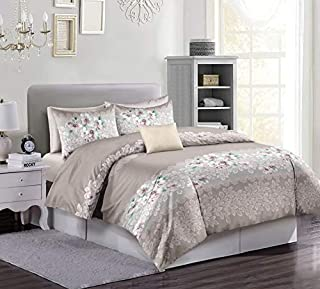 Flower comforter King 8Pcs Set,240x260cm
