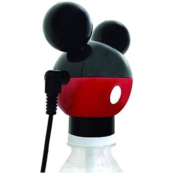 カシムラ 旅行用品・旅行小物 ブラック/レッド 8Wx6.9Hx5.5D (cm) ペットボトル式加湿器 ミッキーマウス NTD-8
