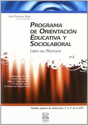 Programa de Orientación Educativa y Sociolaboral (libro del profesor): 19 (Talleres Educativos)