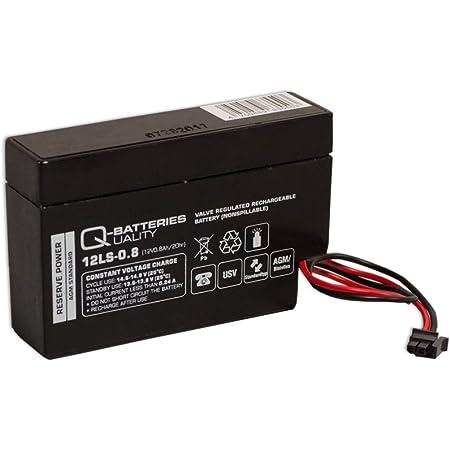 Q Batteries 12ls 1 2 12v 1 2ah Blei Vlies Akku Agm Vrla Mit Vds Elektronik
