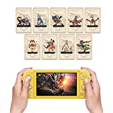 9pcs Monster Hunter Rise Amiibo NFC Tag Card for Switch/Lite/Wii U (Palamute, Palico, Magnamalo)