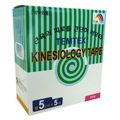 TEMTEX–Kinesiology Tape 5x 56Stück, Rosa