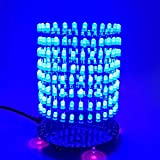 YEMIUGO DIY Soldering Kit 3D Cube LED Light DIY Electronics Kit 256 Lights Flashing Animated Light Music Spectrum Electronic Learning Soldering Practice Kits
