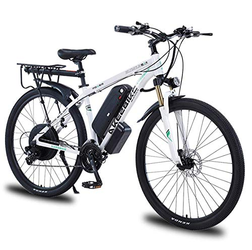 FZC-YM Adultes vélo électrique 29 Pouces Vitesse 48V 12A 1000W VTT Engrenages à Suspension complète Double Freins à Disque vélo de Montagne Moteur vélo de Montagne pour Hommes B