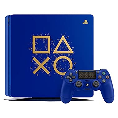 PlayStation 4 Slim 1TB Limited Edition Console – Days of Play Bundle [Discontinued]