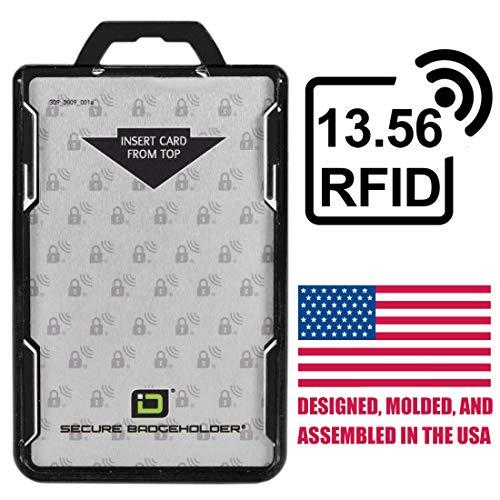 ID Stronghold - RFID Blocking Secure Badge...
