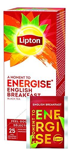 Lipton Gama Sensaciones Té Negro English Breakfast,1 unidad x 25 bolsitas